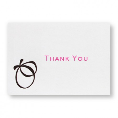 With this Ring Thank You Cards - LIMITED STOCK ON HAND