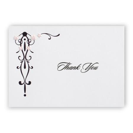Petal Pink Thank You Cards