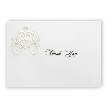 Fantasy Carriage Thank You Cards