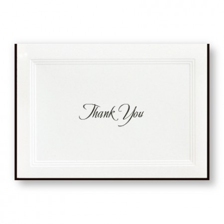 A Classic Thank You Cards