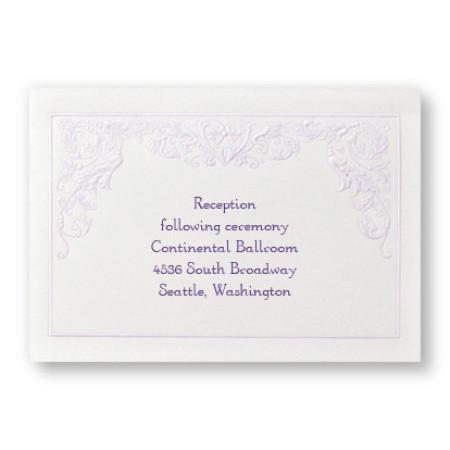 Regency Romance Reception Cards - LIMITED STOCK ON HAND