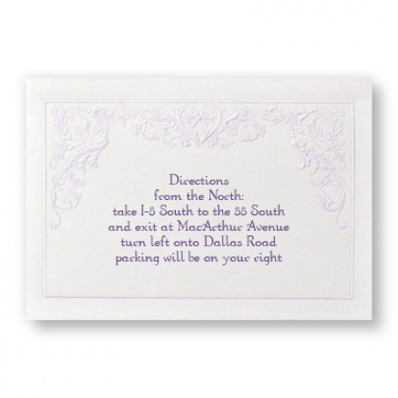 Regency Romance Direction Cards - LIMITED STOCK ON HAND