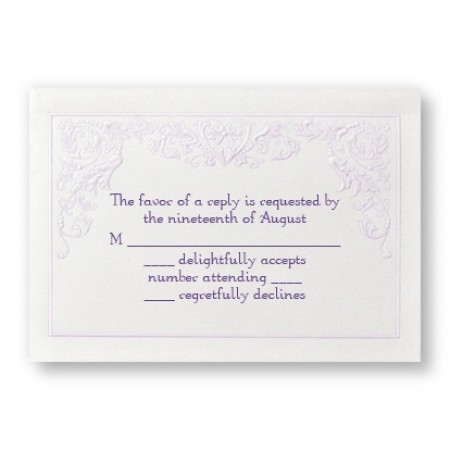 Regency Romance Respond Cards - LIMITED STOCK ON HAND