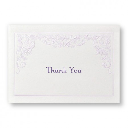 Regency Romance Thank You Cards - LIMITED STOCK ON HAND