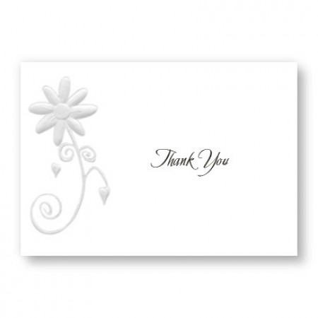 Enchanted Daisy Thank You Cards - LIMITED STOCK ON HAND