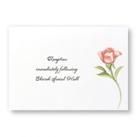 Floral Wreath Reception Cards - LIMITED STOCK ON HAND
