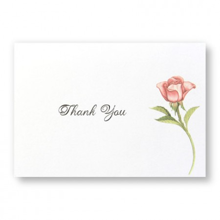 Floral Wreath Thank You Cards - LIMITED STOCK ON HAND