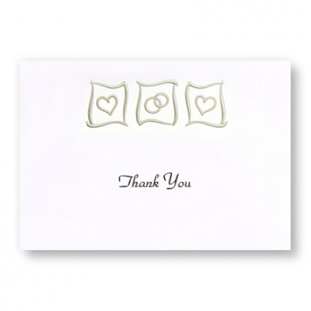 Eternal Love Thank You Cards - LIMITED STOCK ON HAND