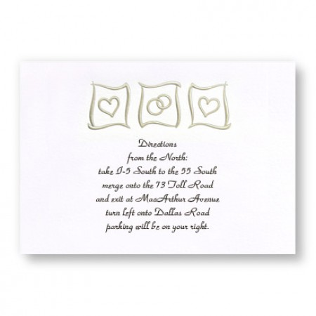 Eternal Love Direction Cards - LIMITED STOCK ON HAND