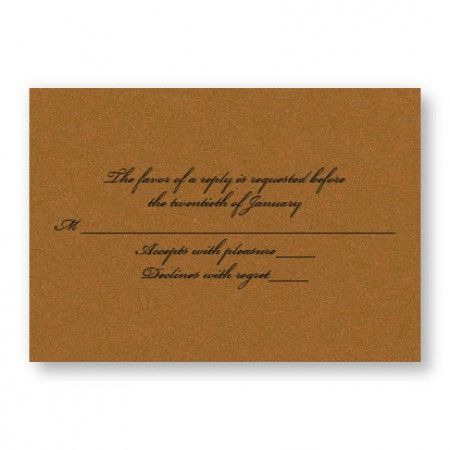 Happy Together Respond Cards - LIMITED STOCK ON HAND
