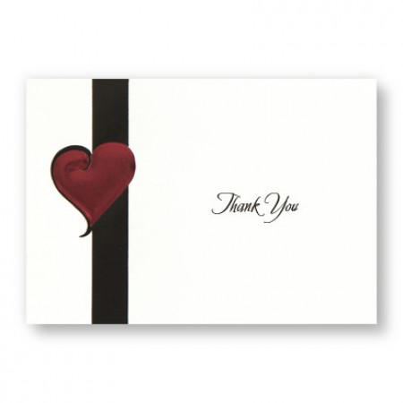 My Heart's Desire Thank You Cards