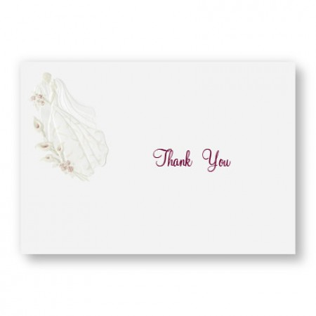 Magnificent Romance Thank You Cards - LIMITED STOCK ON HAND