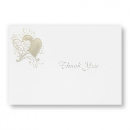 Whimsical Hearts Thank You Cards