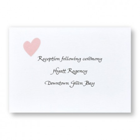 Delightful Love Reception Cards - LIMITED STOCK ON HAND