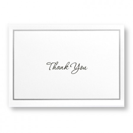 Simple Beauty Thank You Cards