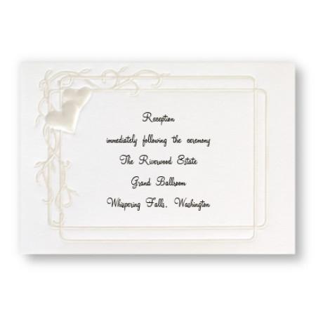 Heartfelt Frame Reception Cards - LIMITED STOCK ON HAND