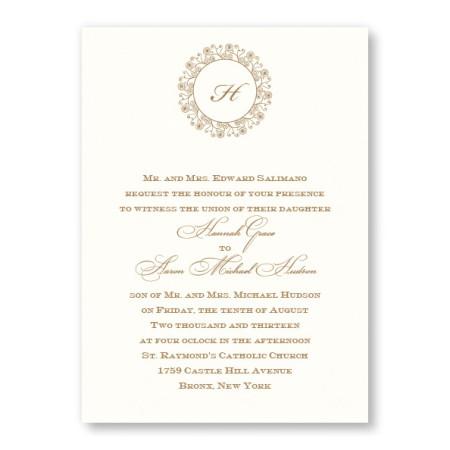 Hannah Wedding Invitations
