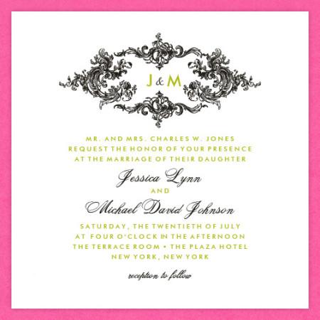 Astoria Wedding Invitations