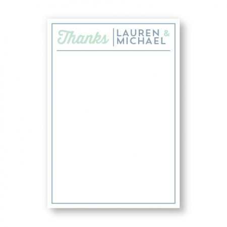 Poster Flat Thank You Cards