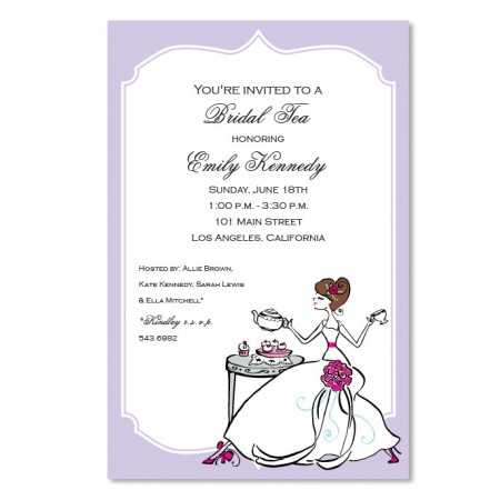 Tea Bride Invitations