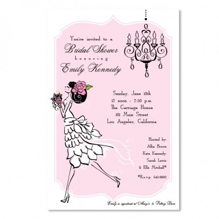 Vintage Bride Invitations SAMPLE