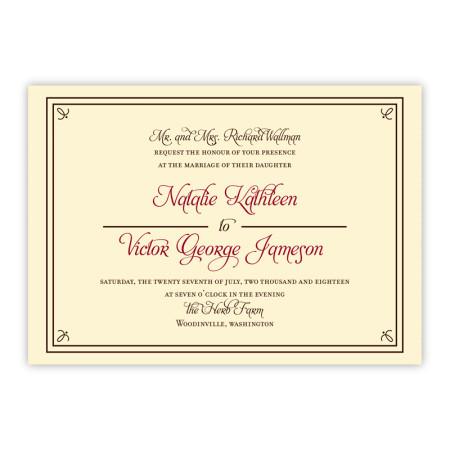 Gretchen Wedding Invitations