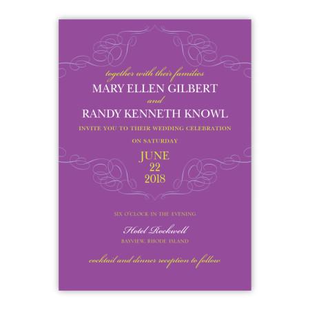 Reese Wedding Invitations