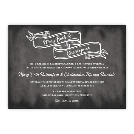 Delaney Wedding Invitations
