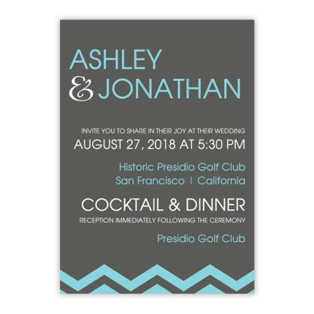 Charlie Wedding Invitations