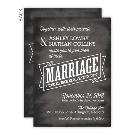 Reyna Wedding Invitations SAMPLE