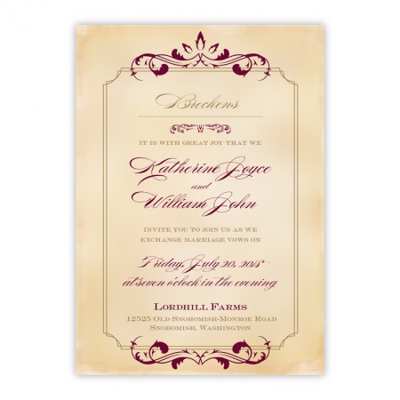Greta Wedding Invitations
