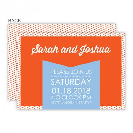 Anya Wedding Invitations SAMPLE
