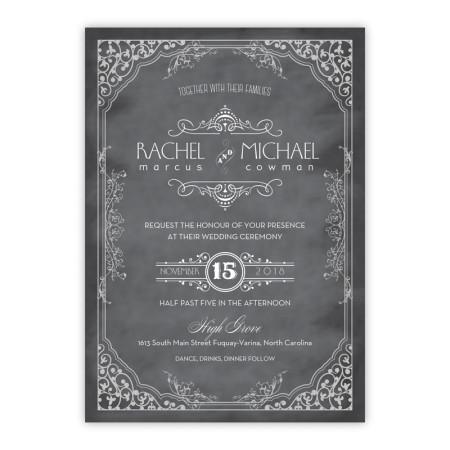 Maggie Wedding Invitations - Real Foil Invitation!
