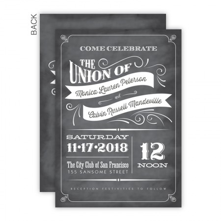 Jenny Wedding Invitations SAMPLE