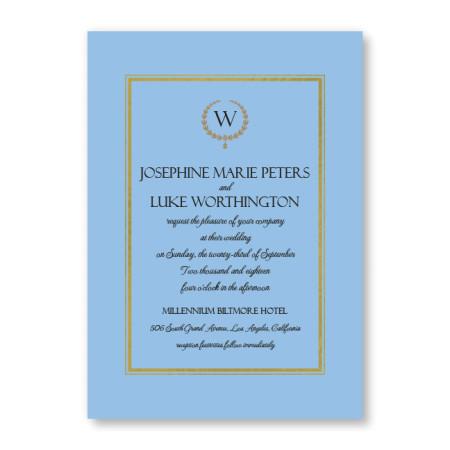 Elise Wedding Invitations - Real Foil Invitation!