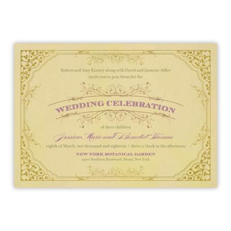 Melanie Wedding Invitations - Real Foil Invitation!