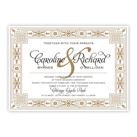 Sonja Wedding Invitations