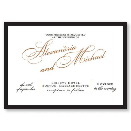 London Wedding Invitations