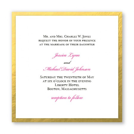Vivaldi Wedding Invitations