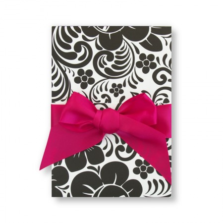 Trifold Floral Wedding Invitations SAMPLE