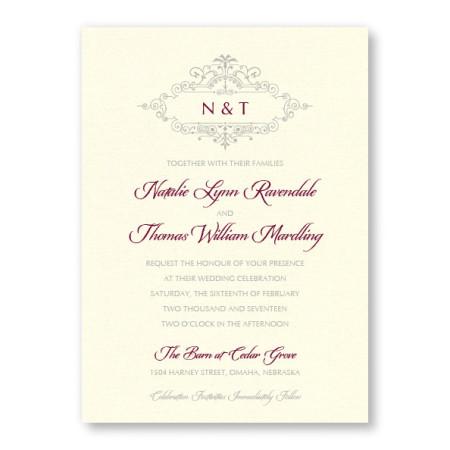 Belle Wedding Invitations