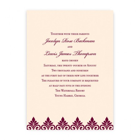 Kendall Wedding Invitations