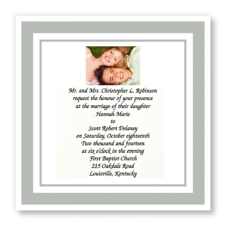 Forever Yours Wedding Invitations SAMPLE