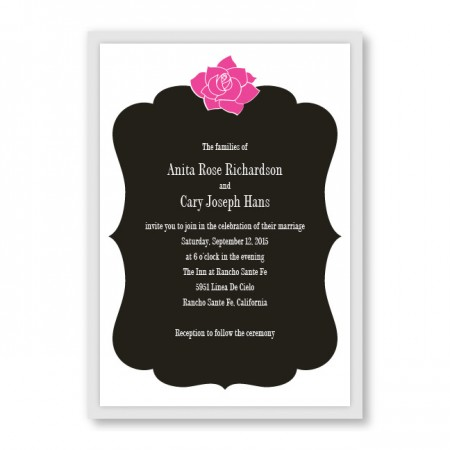 Blooming Inspiration Wedding Invitations