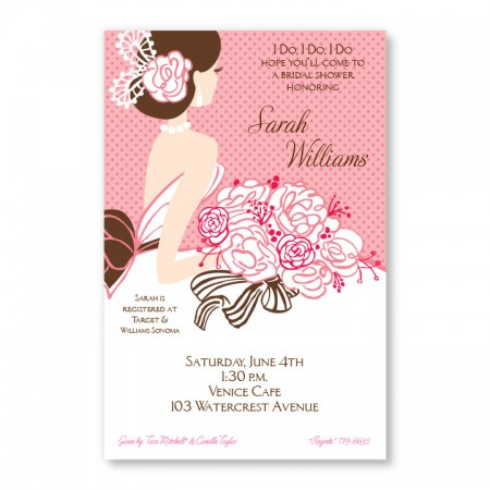 Blushing Beauty Invitations