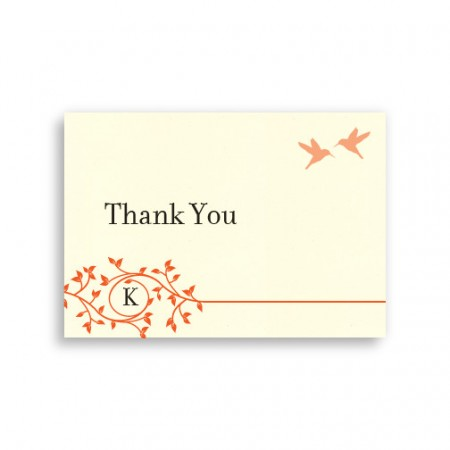 Bright Beginnings Thank You Cards