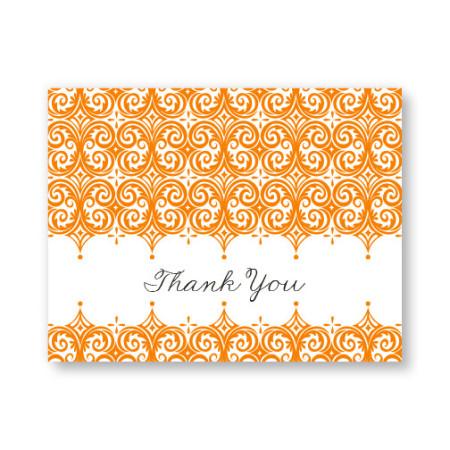 Elite Letterpress Thank You Cards