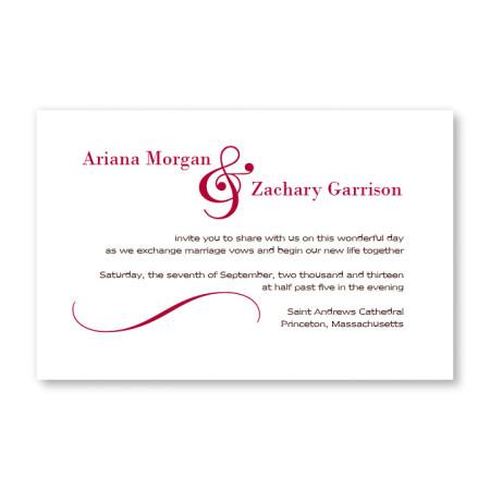 Delightful Design Letterpress Wedding Invitations
