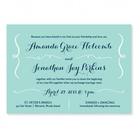 Embrace Unique Wedding Invitations