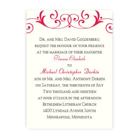 Gabriella Modern Wedding Invitations